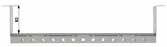 PERFORATED MOUNTING RAIL A19 TS 35