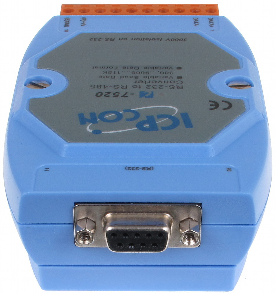 CONVERTER WITH GALVANIC ISOLATION RS-232/RS-485 RS-7520 - RS