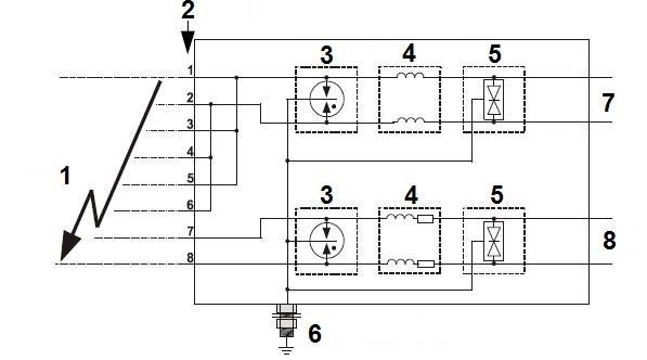 VIDEO-TRAFO TRO-8/400PV-RACK - Video und Audio + Stromversorgung ...