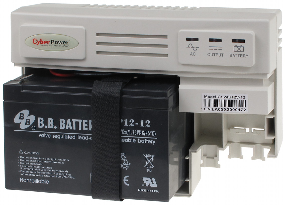 BUFFERED POWER SUPPLY ADAPTER ZBA12-12V/2A - Maximal Output Current