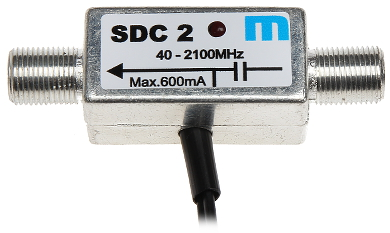 POWER ADAPTER FOR ANTENNA 12V 600MA SDC2 MEZON