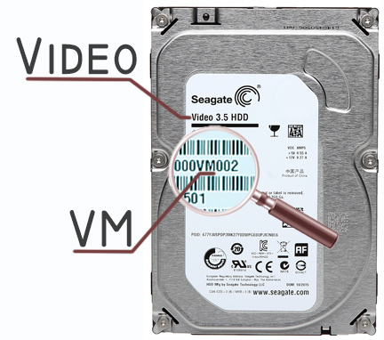 Hdd For Dvr Hdd St2000vm003 2tb 24 7 Pipeline Seagate Hard Disk