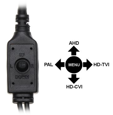 CAMER ASCUNS AHD HD CVI HD TVI PAL APTI H24YK 36 SENZORUL PIR 1080p 3 7 mm