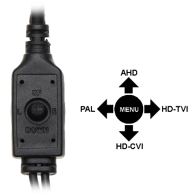 AHD HD CVI HD TVI PAL CAMERA APTI H52V2 36W 5 Mpx 3 6 mm