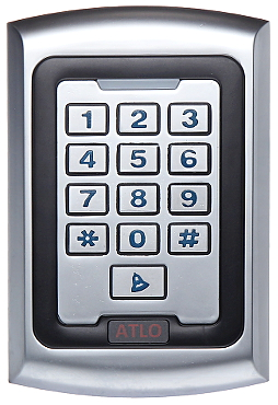 proximity reader with keypad atlo kr 521 delta. Black Bedroom Furniture Sets. Home Design Ideas