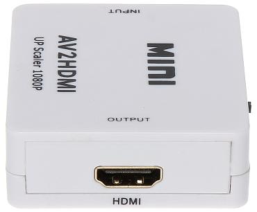 CONVERTOR AV HDMI
