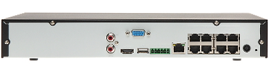 IP DVR BCS NVR0801X5ME P 8 CHANNELS 8 PORT SWITCH POE