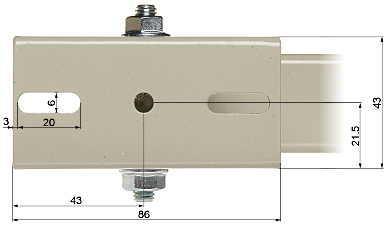 HOUSING POLE MOUNT BRP 20W