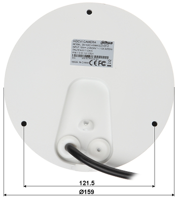 CAMER HD CVI PAL ANTIVANDAL HAC HDBW3231E Z 2712 1080p 2 7 12 mm MOTOZOOM DAHUA
