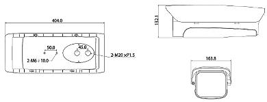 CARCAS CCTV DE EXTERIOR PFH610N H DAHUA