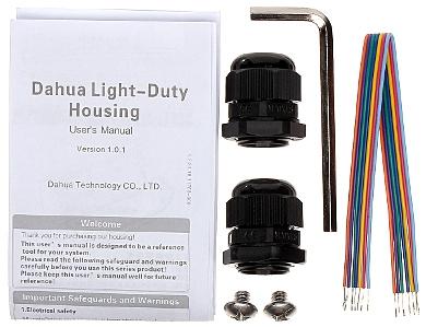 CARCAS CCTV DE EXTERIOR PFH610V IR DAHUA