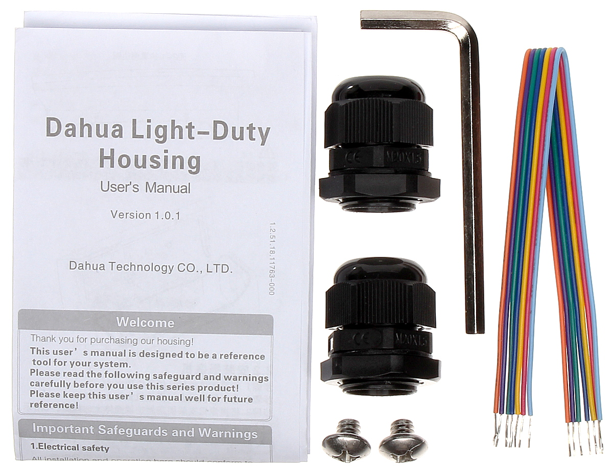 OUTDOOR SIDE OPENING HOUSING DH-PFH610V-IR DAHUA - Housings