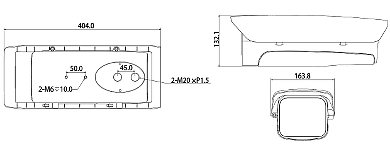 CARCAS CCTV DE EXTERIOR PFH610V DAHUA