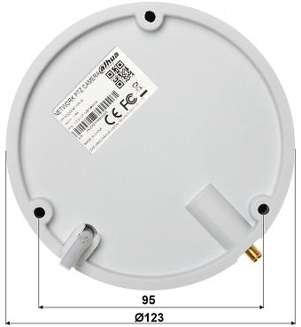 HITROVRTLJIVA ZUNANJA KAMERA IP DH SD22204T GN W Wi Fi 1080p 2 7 11 mm DAHUA