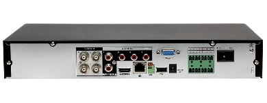 NREGISTRATOR HD CVI PAL TCP IP DHI HCVR4104HE S3 4 CANALE DAHUA