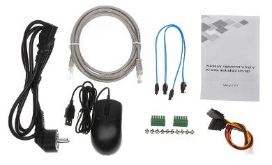 DVR IP NVR5208 8P 4KS2 8 CANALE SWITCH POE CU 8 PORTURI DAHUA