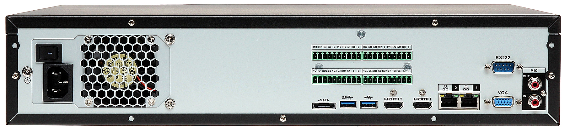 IP DVR DHI-NVR608-32-4KS2 32 CHANNELS +eSATA DAHUA - 32