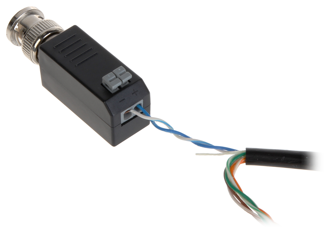 VIDEO BALUN DS-1H18 HIKVISION - Video and Audio Transmission via