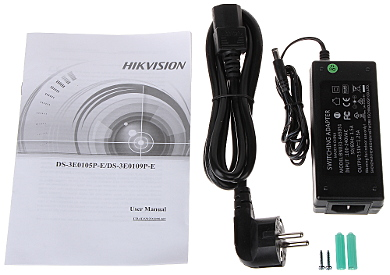 SWITCH PoE DS 3E0105P E 5 PORT HIKVISION