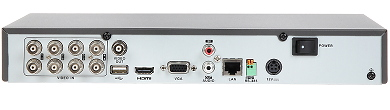 AHD HD CVI HD TVI CVBS TCP IP DVR DS 7208HQHI K1 8 CHANNELS Hikvision