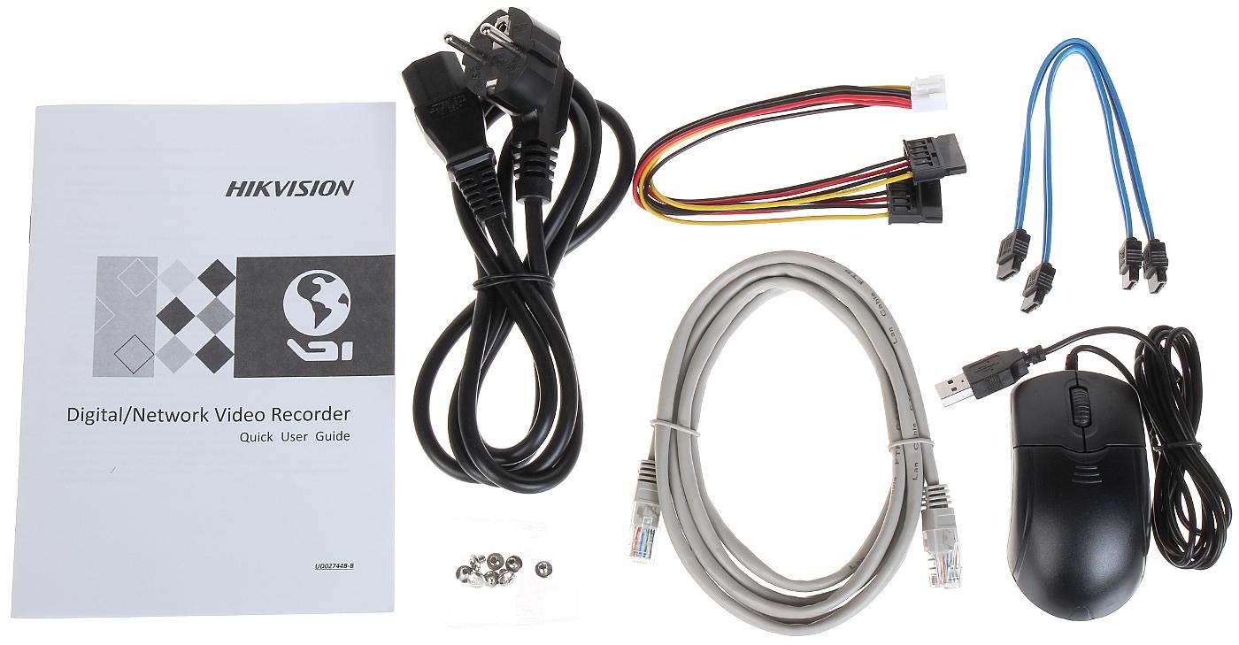 IP DVR DS-7616NI-K2/16P 16 CHANNELS +16-PORT SWITCH PO