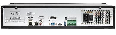 IP DVR FLEX 2589 ONVIF 36 CHANNELS eSATA