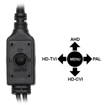 AHD HD CVI HD TVI PAL CAMERA GRAFIX 24C4B 21 1080p 2 8 12 mm