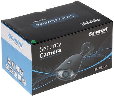 CAMER IP GT CI11C3 36W 720p 3 6 mm GEMINI TECHNOLOGY