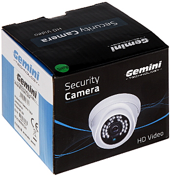 CAMER IP GT CI11V1 28W 720p 2 8 mm GEMINI TECHNOLOGY