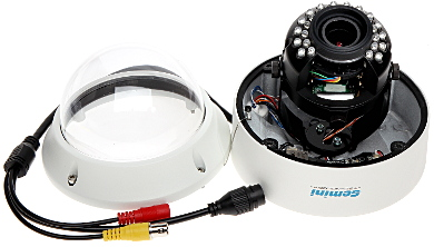 CAMER IP ANTIVANDAL GT CI31D3 28Z 3 0 Mpx 2 8 12 mm MOTOZOOM GEMINI TECHNOLOGY