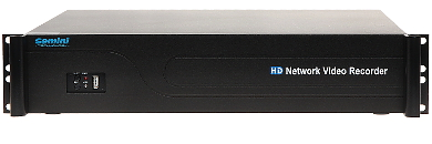IP DVR GT N18 025 36 CHANNELS eSATA GEMINI TECHNOLOGY