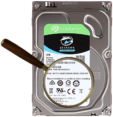 HDD FOR DVR HDD ST4000VX007 4TB 24 7 SkyHawk SEAGATE