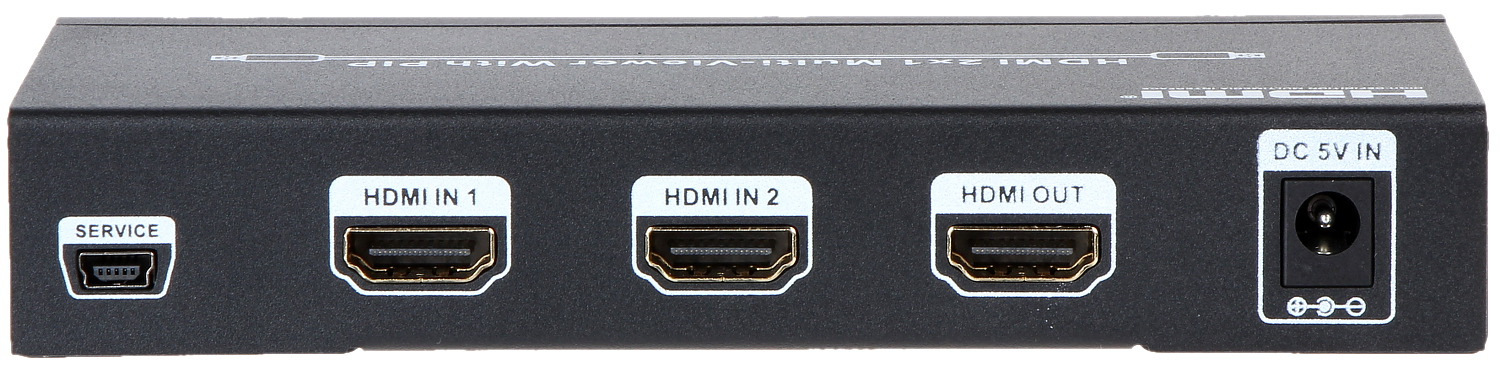 MULTI-VIEWER SWITCHER HDMI-SW-2/1-PIP - HDMI Multi-Viewer