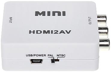 CONVERTOR HDMI AV