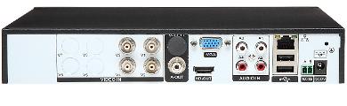 AHD HD TVI PAL TCP IP DVR HYBRO AT429 4 KAN LY