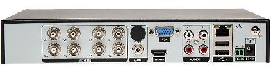 AHD HD CVI HD TVI CVBS TCP IP DVR HYBRO H08E1 W2 8 KAN LOV
