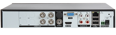 AHD HD CVI HD TVI PAL TCP IP DVR HYBRO H416E 4 KAN LY