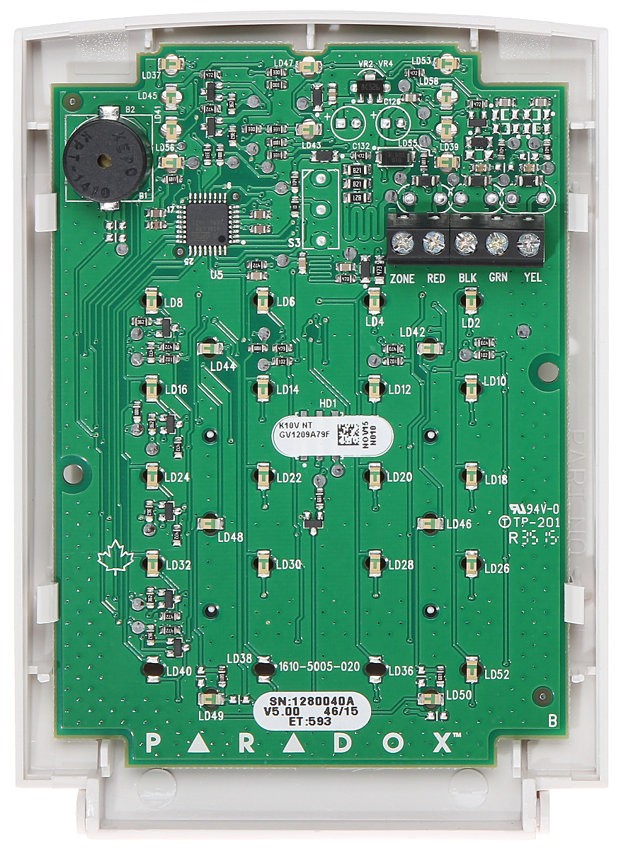 k 10v_img2_d keypad for alarm control panel k 10v paradox led keypads delta paradox sp6000 wiring diagram at honlapkeszites.co