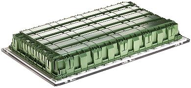 TABLOU ELECTRIC CU MONTAJ NGROPAT DE 72 MODULE LE 401759 Practibox3 LEGRAND