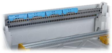 TABLOU ELECTRIC CU NCHIDERE ERMETIC I MONTAJ APARENT 54 MODULE LE 601947 RN65 LEGRAND
