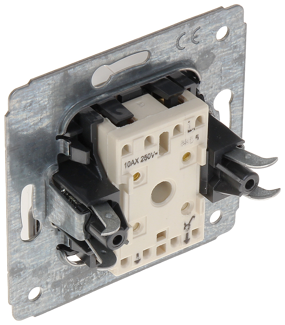Two Gang One Way Switch Le 773605 Cariva 10 A Legrand Switches Delta