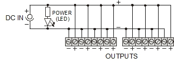 POWER SUPPLY DISTRIBUTOR LZ 1