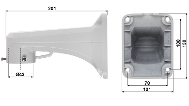 CAMER IP PTZ DE EXTERIOR OMEGA 40P20 12 5 0 Mpx 4 7 94 mm