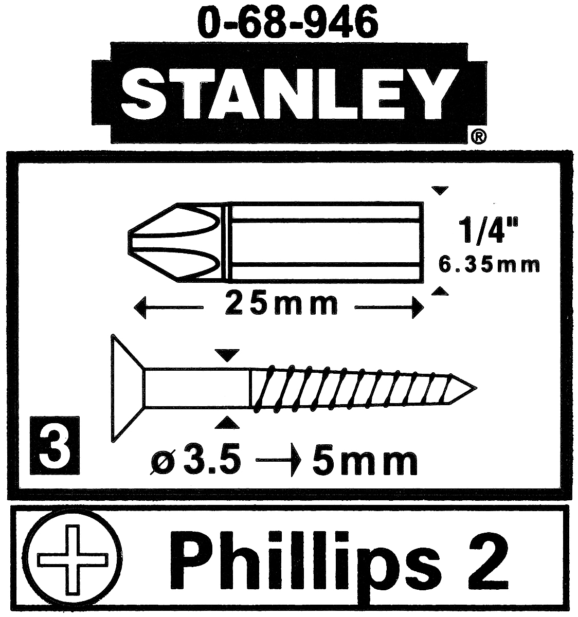bit ph2 st 0 68 946 1 4 stanley other tools delta