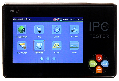 IP PAL VIDEO TESTER ST 35IPC