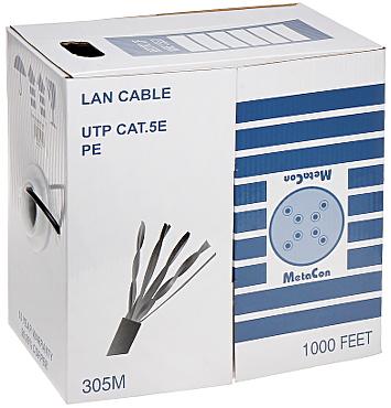 CABLU UTP UTP K5 305M PE MTC METACON
