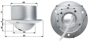 SKRITA KAMERA V 7012 STANDARD PAL 700 TVL 1 1 mm