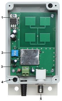 CONJUNTO PARA TRANSMISS O SEM FIO 5 8 GHz VID 7A CONJUNTO TXRX