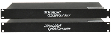 CONVERTOR VIDEO CU FIBR OPTIC WO 16V1DS 16x VIDEO RS 485 SET TXRX