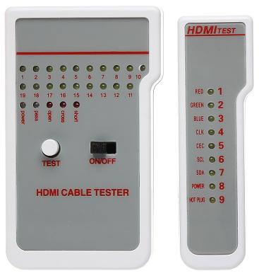 TESTER PENTRU CABLURI HDMI WZ 0017 LOGILINK